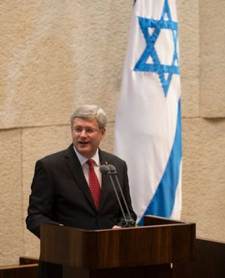 Harper in Knesset I
