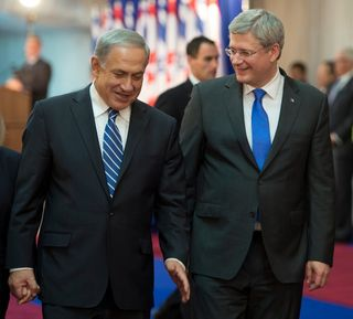 Harper and Netanyahu II