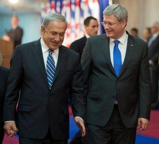 Harper and Netanyahu II
